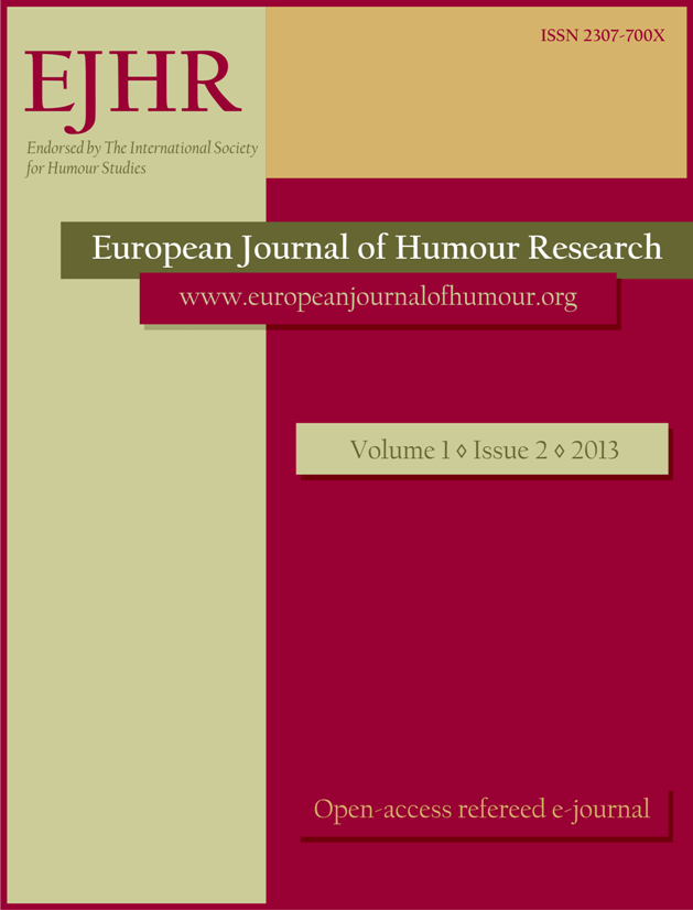 Special issue on political humour